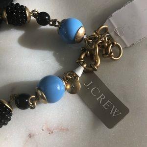 J. Crew Jewelry - J.Crew // Beaded Drop Down Necklace